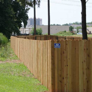 Privacy Fence Example 03